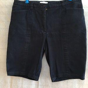 size 14 denim shorts.